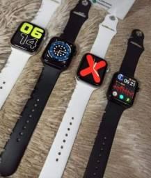 Smartwatch iwo w46 película e pulseira.