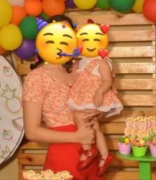 Título do anúncio: Roupa mãe e filha tema quitandinha