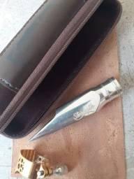 Boquilha Sax  Alto Ever-ton Strength Silver      a Top !!!