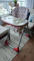 Cadeira alimentação chicco polly