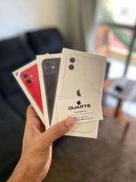 iPhone 11 Branco/Preto/Red/Verde 64GB, 12 meses de Garantia