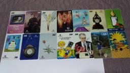 Cartões Telefônicos Colecionáveis - Orelhão Vários 3 Por 10 Reais