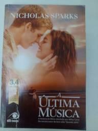 LIVRO A ÚLTIMA MÚSICA- NICHOLAS SPARKS