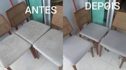 FAZEMOS LIMPEZA DE CADEIRAS EM GERAL