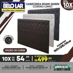 Título do anúncio: Cabeceira Queen Corino Linho