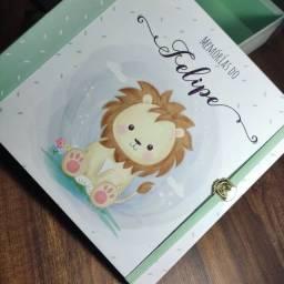 Álbum de bebê personalizado 86 páginas