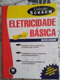 Livro Eletricidade  Básica Milton nunca usado