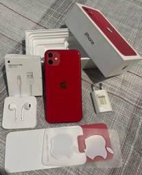iPhone 11 Red 128gb impecável