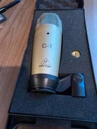 Microfone Condensador C1 Behringer-C1 - Semi-novo