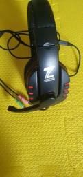 Fone gamer, headset, fone de ouvido, microfone