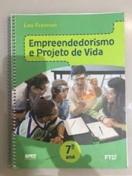 Livro de empreededorismo projeto de vida 7° ano