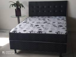 Título do anúncio: colchobox casal/cama box frete grátis para Ubá