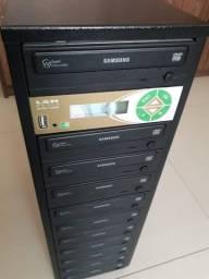 Título do anúncio:  Controladora LSK 1000 Dvd e Cd 10 Gravadores + 1 Matriz e Duplicadora