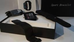 Relogio Smartwatch P80 Novo Original ODW com selo Android e Iphone