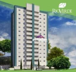 Apartamento com 2 dormitórios à venda, 73 m² por R$ 292.500,00 - Jardim Uirá - São José do