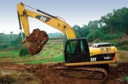 Aluguel de escavadeira Hidráulica