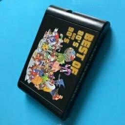 Fita de Mega Drive 196 jogos in 1 comprar usado  Nova Iguaçu
