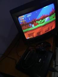 Mega drive 3 com 10 jogos comprar usado  Jundiaí