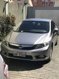 Honda Civic LXR GNV 5 IPVA Pago - 2014