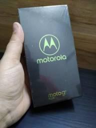 Moto g7 plus rubi - 64 gb - lacrado / 1 ano de garantia