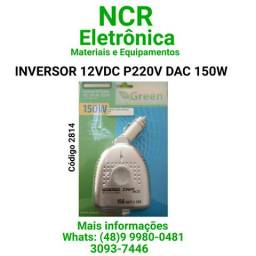Inversor 12vdc p/ 220vac 150w