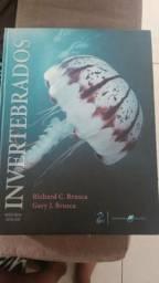Livro - Invertebrados - Bem Conservado
