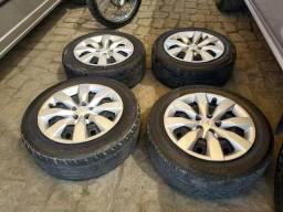 Rodas pneus e calotas corolla original BARATO