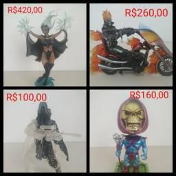 Action figures e bonecos diversos