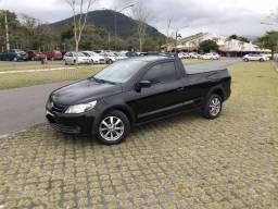 Volkswagen Saveiro Trooper 1.6 Preta CS - 2011