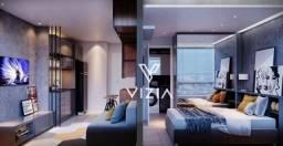 Apartamento Garden com 1 dormitório à venda, 26 m² por R$ 345.105,00 - Alto da Glória - Cu