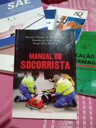 Livro manual do socorrista 50% de desconto