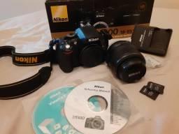Câmera profissional Nikon d510