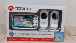 Babá Eletrônica Motorola MBP483XL-2 - Visão Noturna (NOVA)