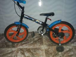 Bicicleta Caloi Hot Wheels Aro 16