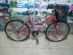 Usada bicicleta feminina