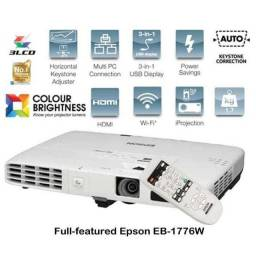Projetor Epson 1776w 3300 Lumens Hdmi Wifi Alta Resolucão Garantia Parcelo NF