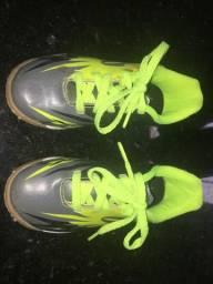 Tênis Masc Infantil Topper Indoor Vlc j Verde Neon/preto