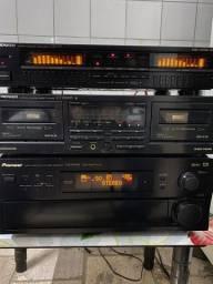 Conjunto Pioneer Receiver Tape Deck Equalizador