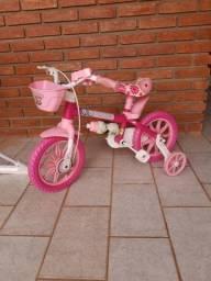 São Carlos/SP Bicicleta Aro 12 Flower Selim Pu Nathor