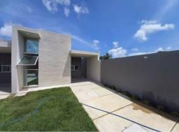 JP casa nova no eusebio com 3 quartos, 2 banheiros, fino acabamento
