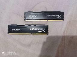 Memória HyperX Fury, 4GB, 1866MHz, DDR3