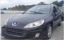Título do anúncio: Peugeot 407 Sw 2007 2.0 automático sucata para retirada de peças.