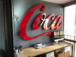 Letreiro decorativo Coca