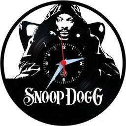 Relógio de parede, Snoop Dogg, em vinil