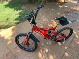 Bicicleta Fischer Fast Boy Aro 20 Vermelha