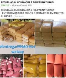 REQUEIJÃO E POLPAS NATURAIS