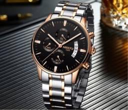 Relógio Nibosi Dourado 2309