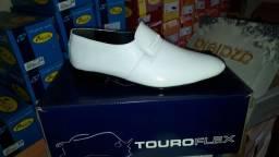 Sapato social couro legítimo touroflex