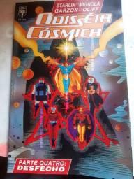 Odisseia Cosmida da DC - HQs / Gibis / Historias em Quadrinhos