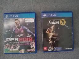 Pes19 e Fallout 76
